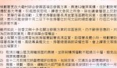 反對大磡村綜合發展區項目修訂方案