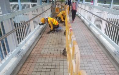 2020年10月31日 路政清潔天橋
