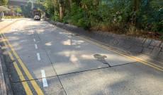 2020年12月26日 大磡道路面破損需維修
